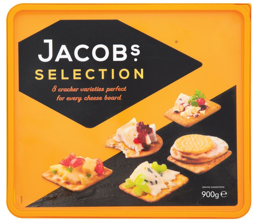 Jacobs Cheese Biscuits 900g